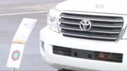 Прикордонники отримали броньовані авто від США