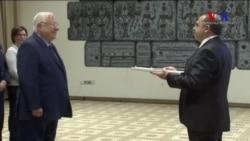 Türkiye'nin İsrail Büyükelçisi Güven Mektubunu Sundu