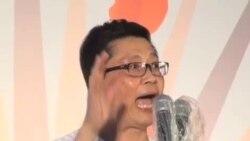 香港七一游行预演占中 倒梁社团绝食誓争普选