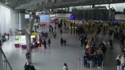 歐洲飛行禁令招致批評旅行計劃陷入混亂 (粵語)