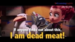 Học tiếng Anh qua phim ảnh: I am dead meat - Phim Storks (VOA)