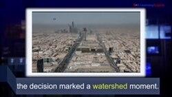 Học từ vựng qua bản tin ngắn: Watershed (VOA)