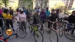 نیو یارک میں سائیکلوں کو 'برکت دینے' کی انوکھی روایت