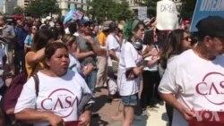 Protestokirina Hewildanên Hilandina Bernama DACA li Washington