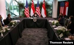 U.S. Vice President visits Singapore, Aug. 24, 2021.