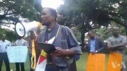 Zimbabweans Pray for Itai Dzamara