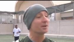2012-11-22 美國之音視頻新聞: 駐阿富汗美軍慶祝感恩節