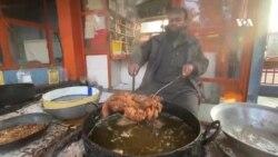 زمستان و رونق بازار ماهی در درونته