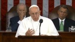 教宗敦促美国国会搁置分歧