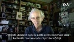 Server o izborima u Srbiji: Ubedljiva ali umrljana pobeda