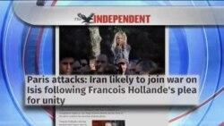 بازتاب حملات مرگبار پاریس و تحولات امنیتی، در نشریات انگلیسی زبان