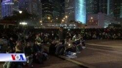 Hong Kong: Biểu tình phản đối cảnh sát xịt hơi cay
