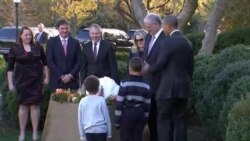 Obama Spares Two Turkeys In U.S. Thanksgiving Tradition