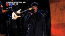 کنسرت دلاوران در روز بزرگداشت کهنه سربازان در باغ ملی واشنگتن
