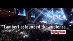 کنسرت آدم لمبرت با گروه کوئين