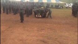 Zimbabwe Game Ranger Passes Out At Passout Parade