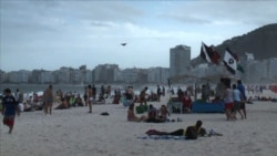 CN - Copacabana Beach Draws World Cup Fans From Near and Far