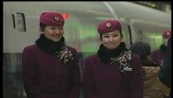 China inaugura tren de alta velocidad