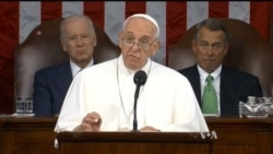 Pope Francis' Speech to Congress: Remarks on Refugee Crisis