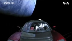 """""""Тесла"""" Ілона Маска мандрує відкритим космосом. Відео"""