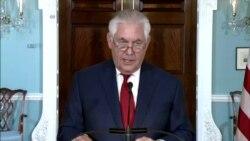 US Tillerson
