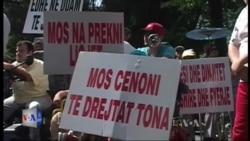 Protestë e invalidëve