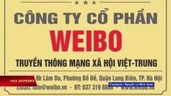 Xuất hiện 'Weibo JSC' tại Hà Nội khiến cư dân mạng lo ngại