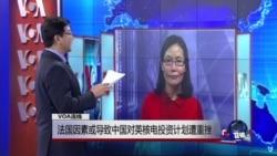 VOA连线: 法国因素或导致中国对英核电投资计划遭重挫