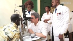 Eye Charity Takes Airborne Healing to World