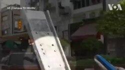 Toàn cảnh vụ cảnh sát Hong Kong bắn đạn thật vào người biểu tình