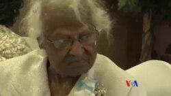 美國人傑羅琳托利慶祝116歲生日