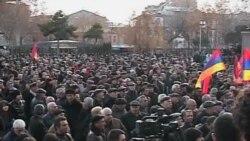 Րաֆֆի Հովհաննիսյանի փետրվարի 20-ի հանրահավաքը Երեւանում