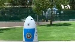 Робот-полицейский в Калифорнии