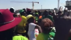 Welcoming Mugabe's Body in Harare