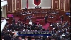 Shqipëri: Opozita braktis parlamentin