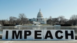 Trump no se considera responsable del asalto al Capitolio