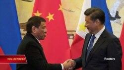Ông Tập và ông Duterte điện đàm về Biển Đông