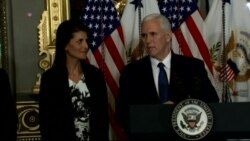 Pence: Indian-American Haley is 'Proof of the Promise of America'