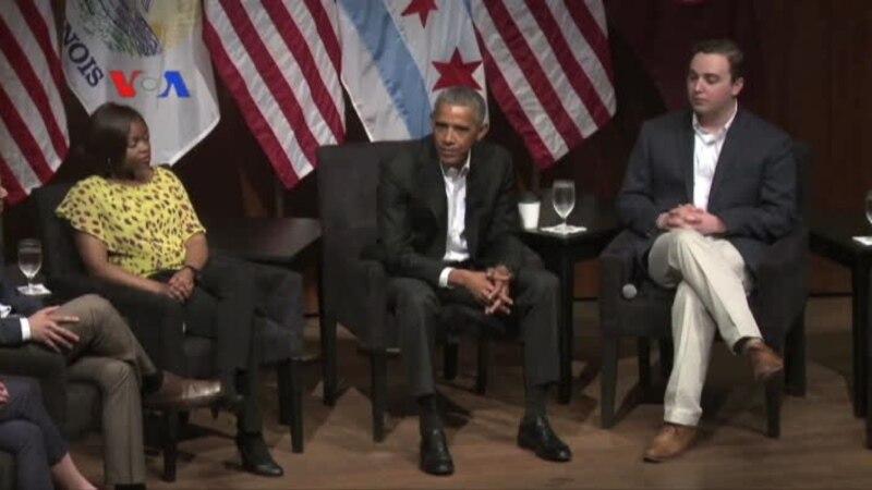 Barack Obama Tampil Lagi di Hadapan Publik
