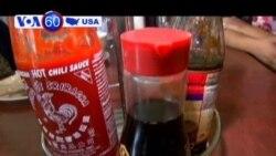Công ty sản xuất tương ớt Sriracha ở Mỹ bị kiện