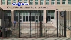VOA60 America - UNGA condemned the U.S. trade embargo on Cuba for the 24th year