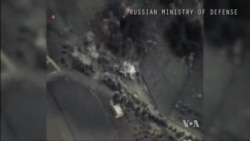 Russian Warplanes Hit Targets in Syria