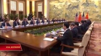 Mỹ-Trung tiếp tục đàm phán giải quyết thương chiến