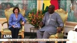 Florence Parly en visite au Sahel