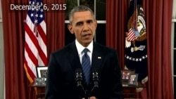 Obama Discusses the US Response to Terrorism