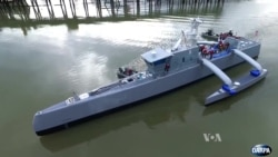 Unmanned Vessel Could Detect, Track Enemy Submarines