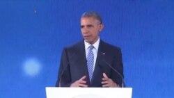 اوباما: مقابله با تغییرات اقلیمی تضادی با توسعه کشورها ندارد