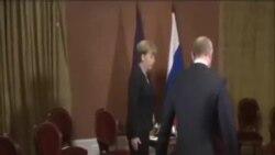 普京默克爾就烏克蘭危機會談