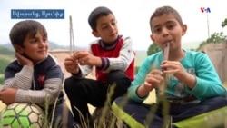 Սարում հաց ուտել, եկեղեցու բակում խաղալ. Սվարանցի երեխաների ամառային առօրյան