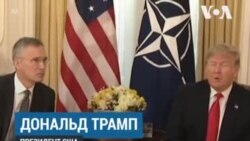 Трамп об отношении Франции к НАТО